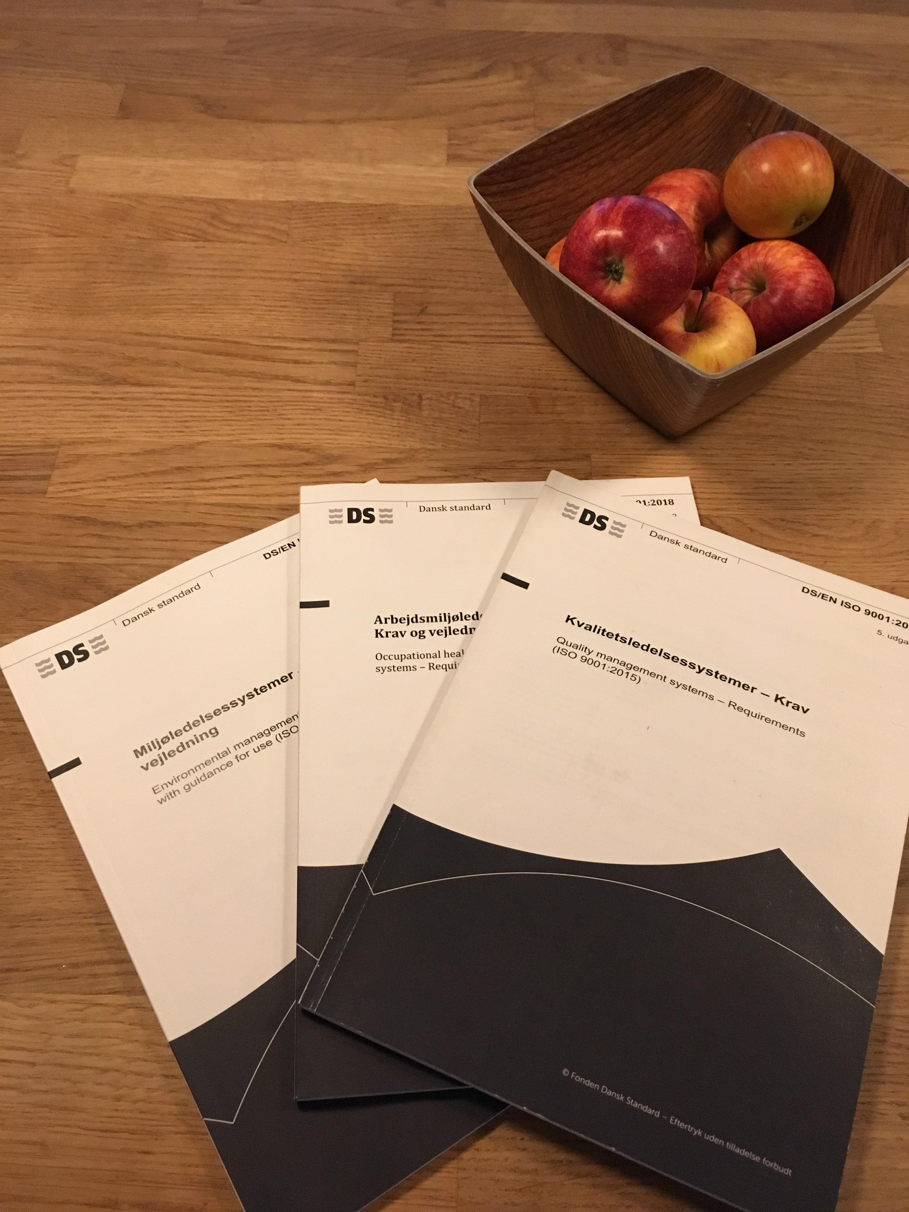 Guide til ISO-certificering udstedet af Dansk Standard